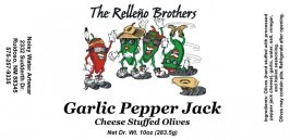 Garlic Pepper Jack Cheese Stuffed Olives