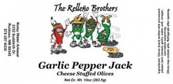 Garlic Pepper Jack Cheese Stuffed Olives Image