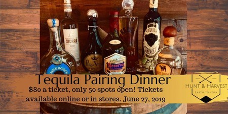Tequila Pairing Dinner Ticket